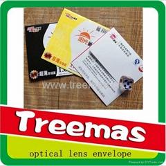 optical lens envelope