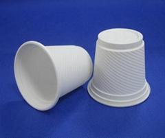 biodegradable disposable cornstarch cup