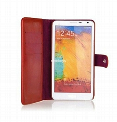 New Slim Flip PU Leather Case for Samsung Galaxy Note3 N9000