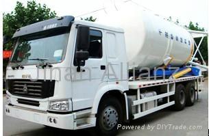 SDX Series dry-mixed mortar tank truck (CNHTC) 1