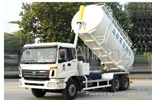 SDX Series Dry mix mortar tank truck (Fukuda chassis) 1