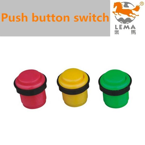Momentary plastic push button switch 4