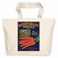 High quality 12oz cotton shopping bag  5