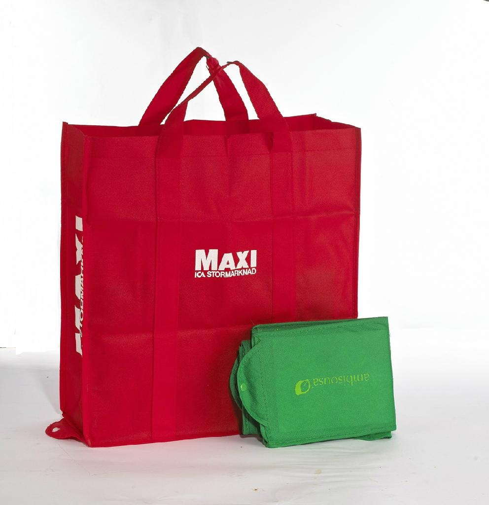 For Supermarket Non Woven Foldable Ping Bag 1