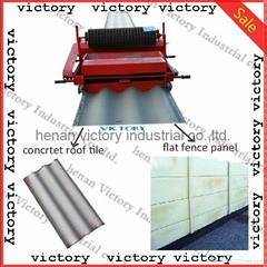 cement roof tile making machine with high efficient and good bearing