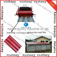 cement roof tile extruder with fast delivery made in China