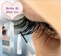 Natural eyelash enhancer brand makeup FEG eyelash growth serum hot selling