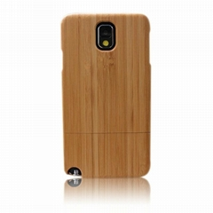 Wooden Wood Back Case Cover Skin for Galaxy Note 3