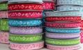 Printed grosgrain ribbon 1
