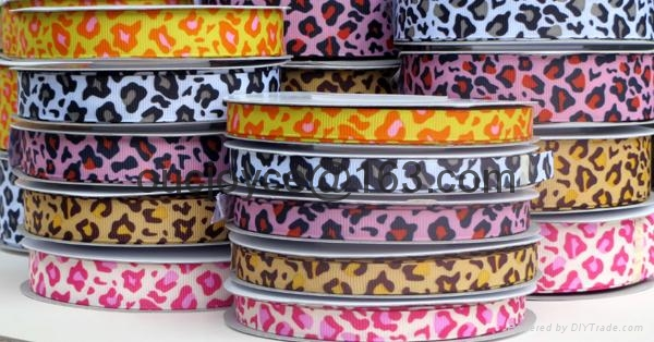 Printed grosgrain ribbon 2
