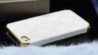 iphone4苹果高档古奇贴皮手机保护套保护壳