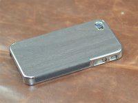 iphone4苹果高档树皮纹贴皮手机保护套保护壳