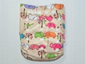 Various Colors and Cute Patterns Reusable Cloth Babies Diapers Nappies 2