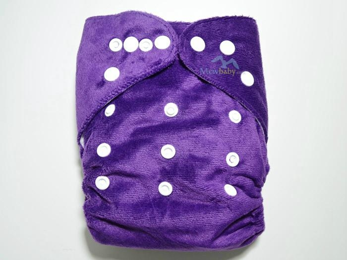 Eco-Friendly AI2 Pocket Diapers,Washable Cloth Diapers Reusable Nappies 4