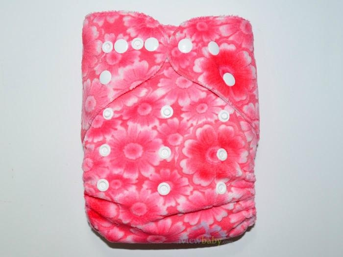 New Printing Breathable Minky Cloth Diapers With Inserts 4