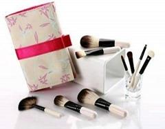 Luxurious mini makeup brush set