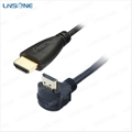AM to AM Right angle hdmi cable 1.4