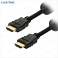 Black Single color Hdmi cable 1.4 for