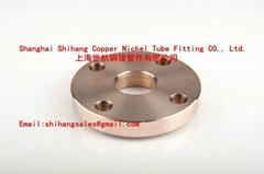 Copper Nickel Slip on Flange EEMUA 145/ANSI B16.5