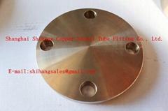 Copper Nickel Blind Flange Manufatcture