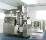 经济型升降式真空分散均质乳化机 1