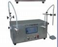 液体磁力泵半自动灌装机