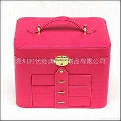 高档多功能皮质珠宝盒