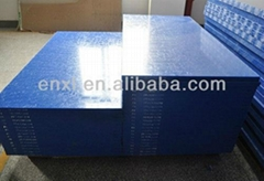 blue PA sheet