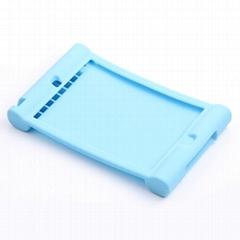 Handhold Silicone Skin Case Shock Proof Soft Cover for iPad mini / mini 2