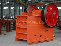 jaw and impact crusher coupled with sieving system