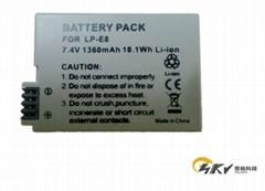 LP-E8 rechargeable li-io