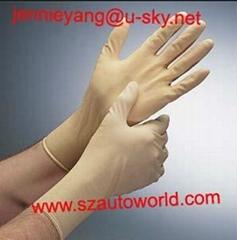 disposable latex glove