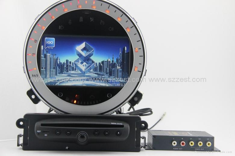 zestech car dvd for bmw mini cooper car dvd gps navigation. Black Bedroom Furniture Sets. Home Design Ideas