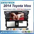 ZESTECH car dvd for toyota vios 2014 car dvd gps navigation with radio Bluetooth 1