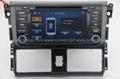 ZESTECH car dvd for toyota vios 2014 car dvd gps navigation with radio Bluetooth 2