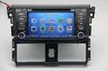 ZESTECH car dvd for toyota vios 2014 car dvd gps navigation with radio Bluetooth 3