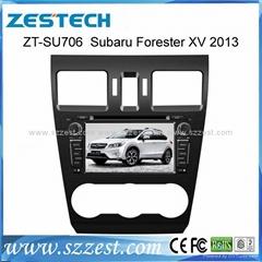 ZESTECH car dvd for Subaru FORESTER XV dvd gps navigation radio Bluetooth ipod