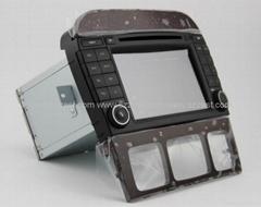 ZESTECH car dvd for BENZ S class W220 dvd gps navigation radio Bluetooth ipod