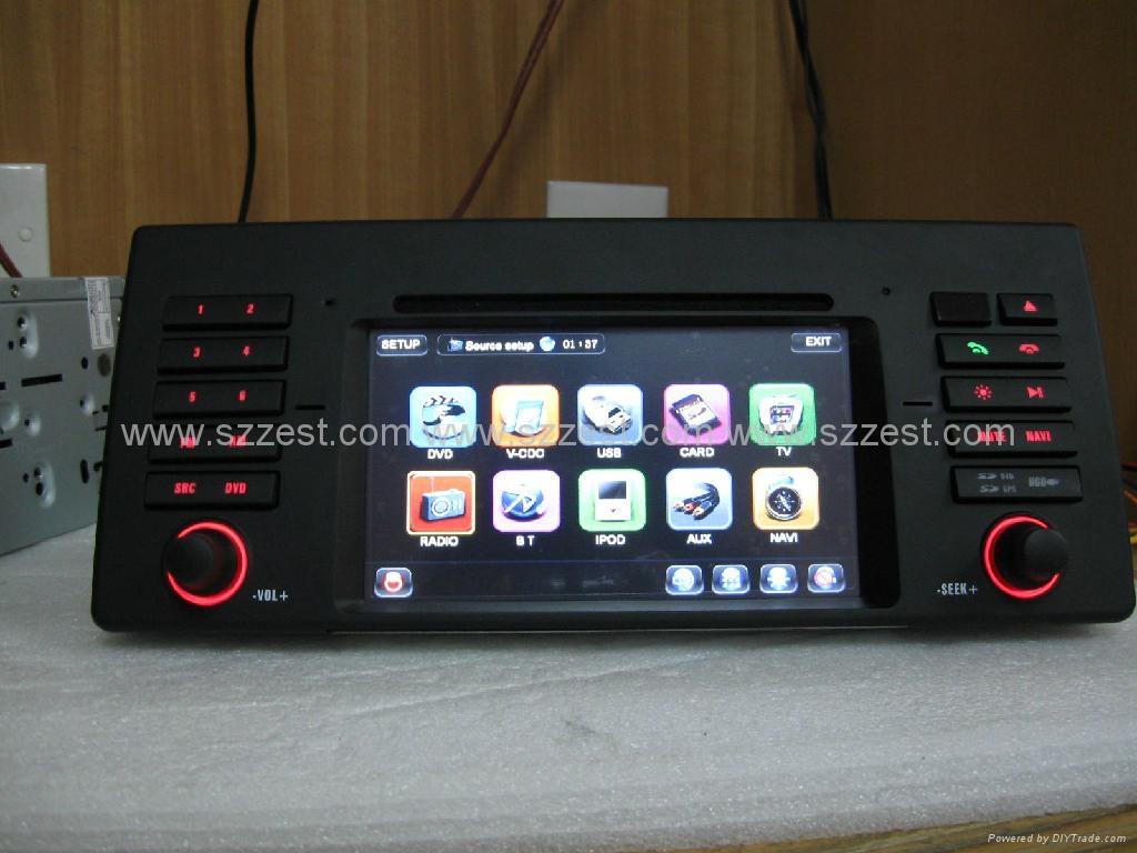 zestech hot car dvd for bmw e39 e53 dvd gps navigation. Black Bedroom Furniture Sets. Home Design Ideas