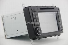 ZESTECH car dvd for benz C class w203 dvd gps navigation radio Bluetooth ipod