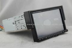 ZESTECH univesal 1 din car dvd gps navigation with radio Bluetooth ipod tv RDS