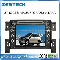 ZESTECH car dvd for SUZUKI GRAND VITARA dvd gps navigation radio Bluetooth IPOD