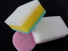 Magic eraser cleaning melamine sponge foam
