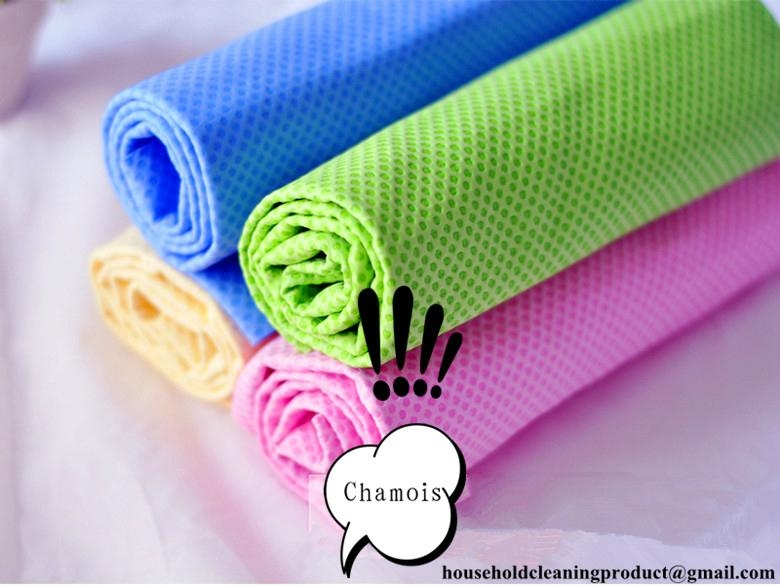 Cleaning hair car chamois cloth towel 1