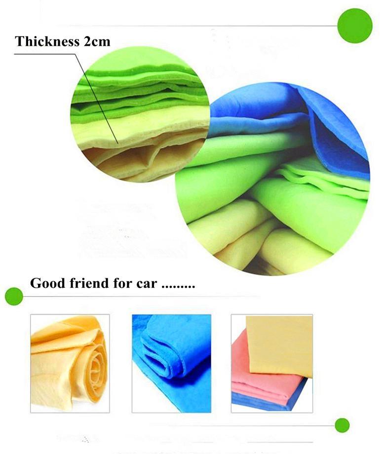 Cleaning hair car chamois cloth towel 3