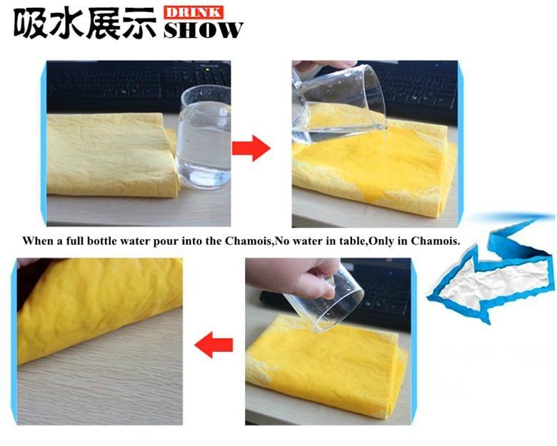 Cleaning hair car chamois cloth towel 5