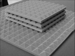 Soundproof material melamine sponge foam