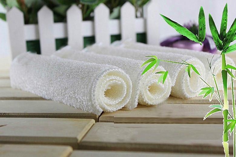 Bamboo fiber cleaning dishcloth 1