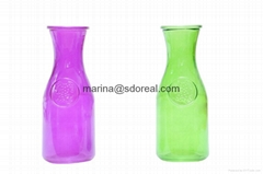 Wide Mouth Glass Bottles