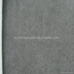 grey spunlace nonwoven fabric for vehicle interior